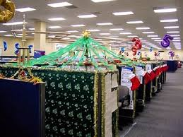 cubicle christmas decorating ideas 1000 ideas about christmas