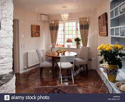 A Small Dining Room In An Extension On Period Cottage