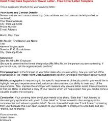 Help Desk Cover Letter Template by Front Desk Cover Letter