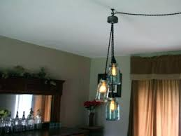 Full Size Of Lighting Swag Mason Jar Dining Room Light Lamp Plans Lamps That Plug In