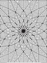Cool Designs Coloring Pages Difficult Geometric Design Rectangles Page 1 Of Pictures