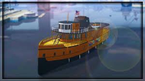 Tug Boat Sinks by Gta 5 Online