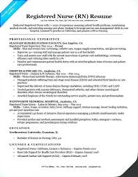 Sample Resume Newly Registered Nurse Philippines Examples For Charming Spectacular