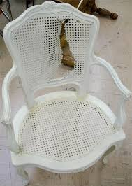 Recane A Chair Seat by How To Fix A Torn Cane Chair Curbly