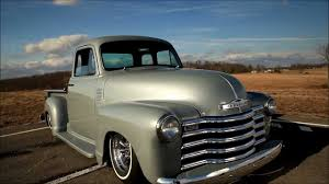 100 1951 Chevy Truck Whalebone Chevrolet BAGGED AIR RIDE Pickup YouTube