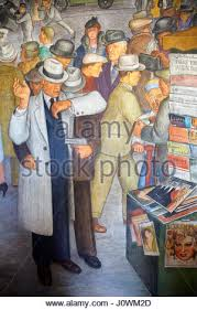 Coit Tower Murals Images by Fresco Murals Inside Coit Tower Showing A Scene Of City Life San