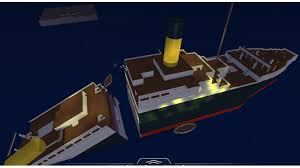 Sinking Ship Simulator The Rms Titanic by Roblox Titanic Classic Roblox