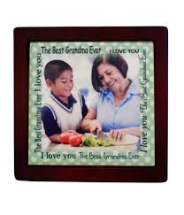 personalized photo tile picture frames displays