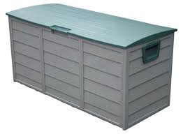 Rubbermaid Patio Storage Bench by Outdoor Plastic Storage Boxes