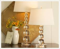 Royal Master Sealight Floor Lamp by Pottery Barn Stacked Crystal Table U0026 Bedside Lamp Base Amis Inspiré