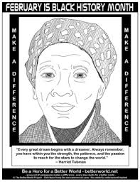 Free Black History Month Coloring Pages For Kids