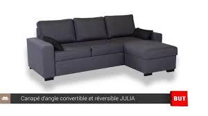 but canapé lit canapé d angle convertible et réversible but