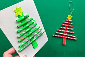 Eg Turn Them Into These Fabulous Straw Christmas Tree Ornaments And Cards