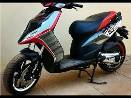 Aprilia SR 150 Modified With Complete New Look