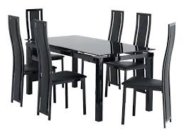 Ebay Dining Table 6 Chairs Gorgeous And Six Chair Set