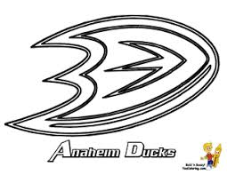 Free Printable Anaheim Ducks Hockey Click