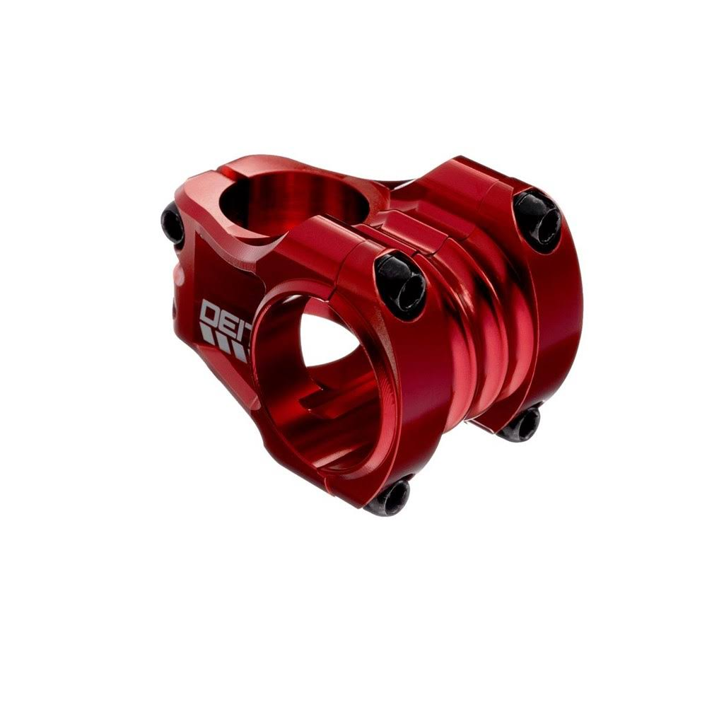 Deity Copperhead Stem 35mm Clamp - Red - 35mm