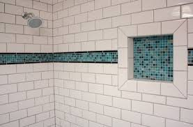 bathroom subway tile accent awesome subway tile design and ideas