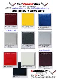 2017 Actual Corvette Color Chips - Rick Conti @ Coughlin ... Cadian Paint Codes Chips Dodge Trucks Antique 2013 Chevy Truck Colors Awesome Walkaround Video Of 2014 1953 1954 Chevrolet Original Yellow 65any Pictures The 1947 Present Paint Colors 54 1 Splendid Globaltspcom Main Changes And Additions To The 2016 Silverado Mccluskey Chase Rally 62018 Racing Stripes Decals Kit 3m 1967 Fleet Commercial Stuff Buy Chevy Black Widow Lifted Trucks Sca Performance Black Widow Chev 235 Guy Color Chart Colorado Gm Authority Chevys 2019 Gets New 3l Duramax Diesel Larger Wheelbase