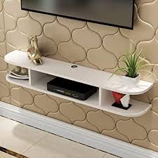 gdf schwimmende regale tv media console moderne wohnzimmer