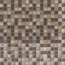 jeffrey court cabernet 12 in x 12 in x 8 mm glass slate mosaic