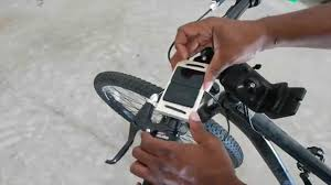 DIY universal iphone 6 6plus smartphone bicycle mount