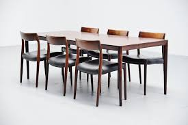 Severin Hansen Rosewood Dining Table Haslev Denmark 1960 ... Ding Room Fniture Cluding A Table Four Chairs By Article With Tag Oval Ding Tables For 8 Soluswatches Ercol Table And Chairs Elm 6 Kitchen Room Interior Design Vector Stock Rosewood Set Extendable Whats It Worth Find The Value Of Your Inherited Fniture Wikipedia Danish Teak Wood Chairs Circa 1960 Set How To Identify Genuine Saarinen Table Scandart Vintage Mid Century S Golden Elm Extending 4