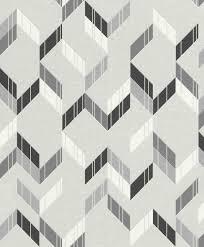 muster tapete grau glitzer wohnzimmer