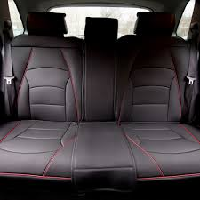 BESTFH: Car SUV Truck PU Leather Seat Cushion Covers Black Red Trim ... Pin By Pradeep Kalaryil On Leather Seat Covers Pinterest Cars Best Seat Covers For 2015 Ram 1500 Truck Cheap Price Products Ayyan Shahid Textile Pic Auto Car Full Set Pu Suede Fabric Airbag Kits Dodge Ram Amazon Com Smittybilt 5661301 Gear Fia Vehicle Protection Dms Outfitters Custom Camo Sheepskin Pet Upholstery Faux Cover For Kia Soul Red With Steering Wheel Auto Interiors Seats Katzkin September 2014 Recaro Automotive Club Black Diamond Front Masque