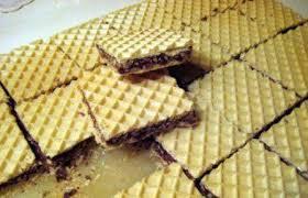 rezept waffelblätter mit schoko und nuss