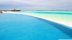 100 Maldives Infinity Pool 4K HD Desktop Wallpaper For 4K
