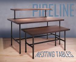 Pipeline Series Nesting Table