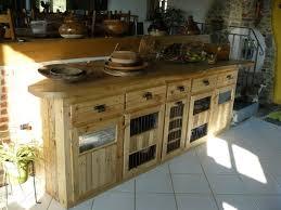 meuble cuisine palette brico meuble cuisine en palette palettes en bois idées de