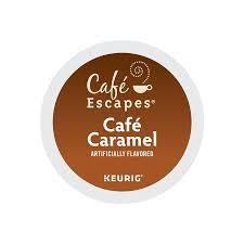 Mccafe Pumpkin Spice Keurig by Café Escapes Keurig K Cups Caramel 24 Count Amazon Com Grocery