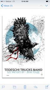 Tour Poster For 2016. | Tedeschi Truck Band | Pinterest | Tedeschi ... Tedeschi Trucks Band Infinity Hall Live Wraps Up Tour Grateful Web At Beacon Theatre Zealnyc The West Coast Plays Seattle And Los Wheels Of Soul Derek Birthday To Play Chicago In Adds 2018 Winter Dates Maps Out Fall Tour Dates Cluding Stop 2017 Front Row Music News Coming Tuesdays The Announces