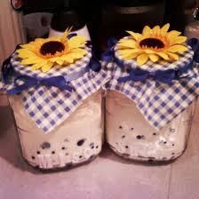 Made These From Scratch To Match My Sunflowers Kitchen Decor Sunflower DecorCanister SetsCanistersCreative