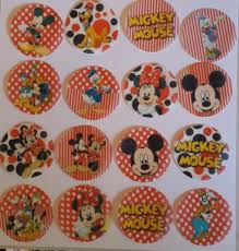 Boys Theme Edible Wafer Paper Cupcake Toppers X12 All Your Favourite Characters