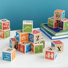 Super Nerdy ABC Blocks Science Toys UncommonGoods