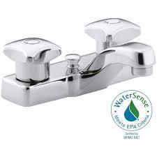 Kohler Coralais Bidet Faucet by Kohler Two Handle Bathroom Chrome Faucet Chrome Two Handle