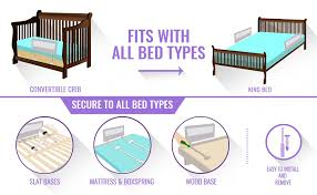 Regalo Extra Long Bed Rail by Amazon Com Toddler Bed Rail Guard For Convertible Crib Kids