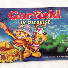 Clifford Halloween Book by Vintage Garfield In Disguise Halloween Book 1985 By