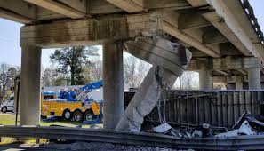 Driver Killed In I-26 Crash Identified; Orangeburg County Overpass ... New York Buff Media Truck Driver Pinned After Striking Overpass Hits Overpass Delays Train In Haven Wtnh Bridge Rolls Over On 8th Ave Offramp From I25 Fox31 Flatbed Truck Carrying Box Monroe Heraldnetcom Same Southern State Parkway Struck April Bus Cp Rail Coquitlam Scanbc Twitter Crews Scene With A Crane Hits Route 9 Berlin Nbc Connecticut 100th St Hit Again 4th Time This Year Stuck Under Closes Eries French Street News Nashville Inrstates Close After Semi Tctortrailer Fdr Drive Backs Up Traffic Wpix