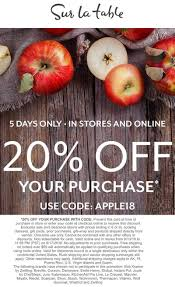Sur La Table Coupons - 20% Off At Sur La Table, Or Online ... Best Online Deals And Sales Every Retailer Running A Sale Wning Picks20 Off Customer Favorites Sur La Table La Table Stores Brand Deals Sur Babies R Us Ami Need Help Using Your Coupon Ask Our Chefs 15 November 2019 Bakingshopcom How To Find Uniqlo Promo Code When Google Comes Up Short Sur_la_table Twitter Apply Promo Code Or Coupon In Uber Eats Iphone Ios App