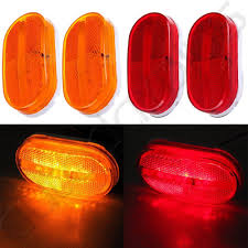 4x Amber & Red Oval 12v Dually Bed Side Marker Lights Lamp Trailer ... Buy 10 Pcs Tmh 25 Red Light Lens Super Flux Side Led 5x264146cl Amber Led Cab Roof Marker Running Lights Clear For Atomicdsobingcabmarkightsfordtruckamberlens Chicken Lightsmarker Lights Lets See Some Pics Of Em Page 2 Truck Marker Youtube 5xteardrop Yellow Top Clearance For Szhen Idun Photoelectric Technology Co Ltd Truck Bragan Specific Hand Polished Stainless Steel Under Bumper Low 12v 24v Lamp Car Trailer Shop 100 Waterproof Universal 2011 Ford F150 Fx4 Raptor Inspired Grille