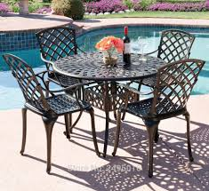 5-piece Cast Aluminum Patio Furniture Arm Chair And Table ... Alinum Alloy Outdoor Portable Camping Pnic Bbq Folding Table Chair Stool Set Cast Cats002 Rectangular Temper Glass Buy Tableoutdoor Tablealinum Product On Alibacom 235 Square Metal With 2 Black Slat Stack Chairs Table Set From Chairs Carousell Best Choice Products Patio Bistro W Attached Ice Bucket Copper Finish Chelsea Oval Ding Of 7 Details About Largo 5 Piece Us 3544 35 Offoutdoor Foldable Fishing 4 Glenn Teak Wood Extendable And Bk418 420 Cafe And Restaurant Chairrestaurant