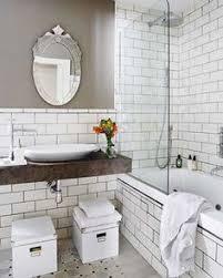 subway tile bathrooms