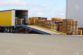 Semi Truck Backed Onto Loading Ramp And Stack Of Pallets Stock Photo ... Forklift Ramps Vs Loading Medlin Truck Ramps South Africa Steel For Pickup Trucks Trailers Used Portable Ramp Sale Or Rent Nation Dirt Bike Hitch Carrier Jp Metal Fabrication 1000lb Nonslip Atv 9 X 72 6t Hydraulic Mobile Forklift Truck Loading Ramp Dcqy608 Smart My Homemade Sled Arcticchatcom Arctic Cat Forum Amazoncom 75 Ft Alinum Plate Top Lawnmower Tacoma World Other Equipment Promech