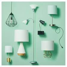 Halogen Floor Lamps At Target by Torchiere Floor Lamp With Task Light Black Room Essentials Target