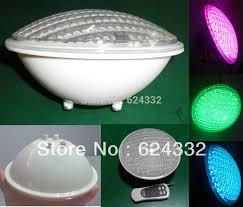 led swimming pool light par56 bulb 252leds 14w ac12v rgb pc cover