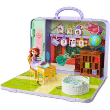 Princess Kitchen Play Set Walmart by Disney Sofia The First Portable Play Set Walmart Com